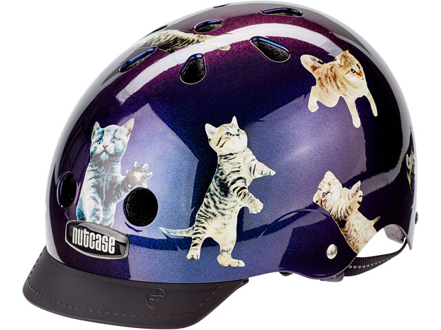 Nutcase Street Helmet Kinder space cats